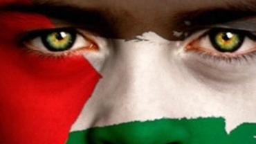 Muntstickers Palestina